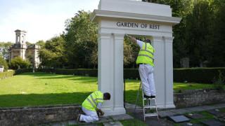 Arnos Vale Cemetery Bristol - Restoration