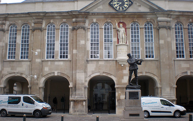 Shire Hall, Monmouth, Wales